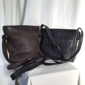 Vintage Coach Sonoma Leather Crossbody Bag Bundle